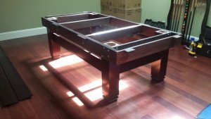 Pool and billiard table set ups and installations in Fox Chapel Pennsylvania